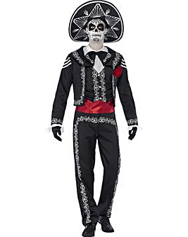 Halloween Day of the Dead Se�or Bones