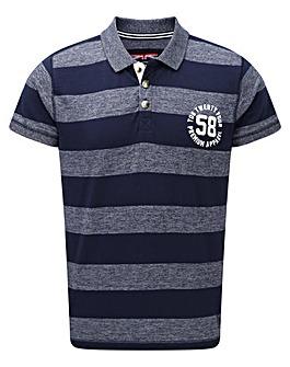 Tog24 Beech Stripe Mens Polo Shirt
