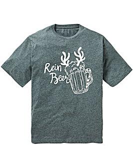 Jacamo Rein Beer Xmas T-Shirt R