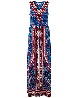 Monsoon Amanda Print Maxi Dress
