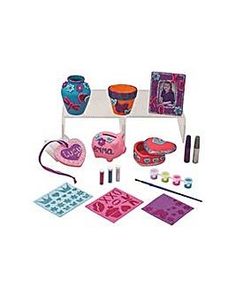 CV Be U Paint Your Own Ceramic Set