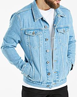 Jacamo 90s Wash Denim Jacket