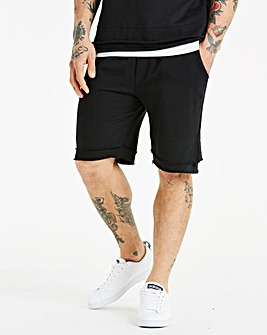 Jacamo Raw Hem Sweat Shorts