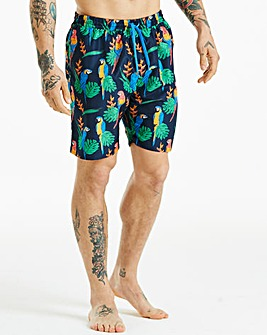 Jacamo Parrot Printed Swim Short