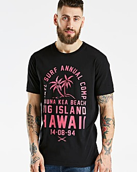 Jacamo Hawaii T-Shirt Long