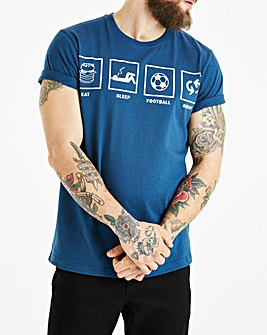 Jacamo Football T-Shirt Long