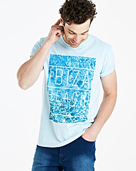 Jacamo Ibiza Beach T-Shirt Long