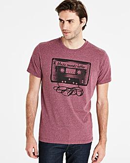 Jacamo Cassette T-Shirt Regular