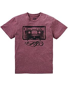 Jacamo Cassette T-Shirt Long