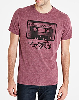 Jacamo Cassette T-Shirt Regular