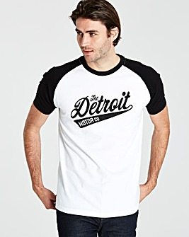 Jacamo Detroit T-Shirt Regular