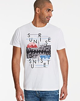 Jacamo Sunrise T-Shirt Long