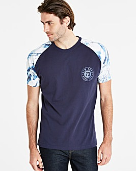 Jacamo Marble T-Shirt Long