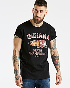 Jacamo Indiana T-Shirt Long