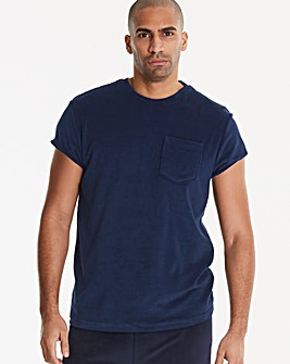 Jacamo Terry Towelling T-Shirt Long