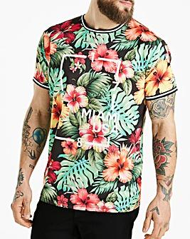 Jacamo Miami USA Sub T-Shirt Regular