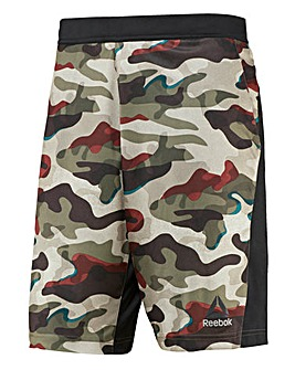 Reebok Speedwick Knitted Camo Shorts