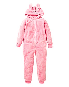Girls Teddy Onesie