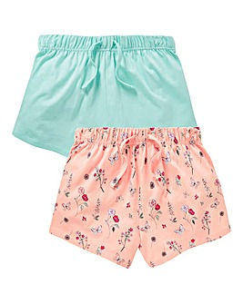 Girls Pack of Two Shorts