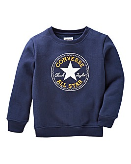 Converse Boys Patch Sweatshirt