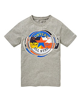 Converse Boys Retro Colourblock Tee