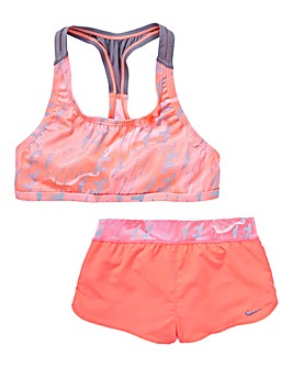 Nike Girls Racerback Short and Top Set
