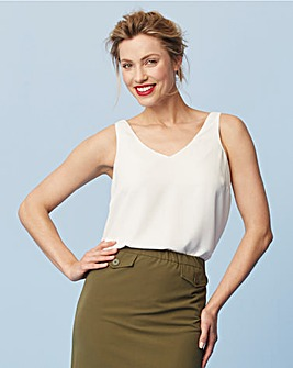 Built Up Strappy Cami