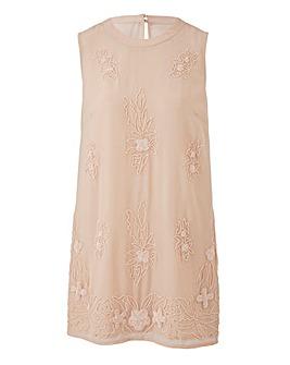 Blush Print Embellished Tunic