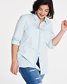Bleachwash Denim Shirt