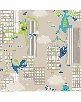 Arthouse Monster Madness Wallpaper