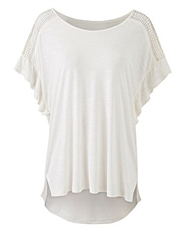 Volume Sleeve Slub T-shirt