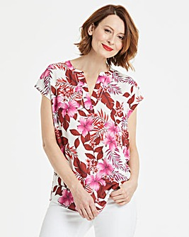 Pink Floral Ladder Insert Top