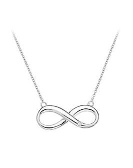 Hot Diamonds Infinity Necklace
