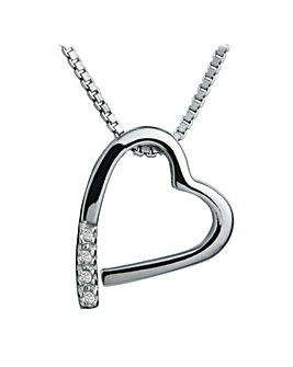 Hot Diamonds Heart Pendant