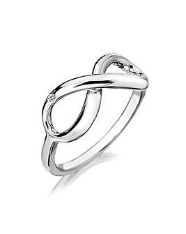 Hot Diamonds Infinity Ring