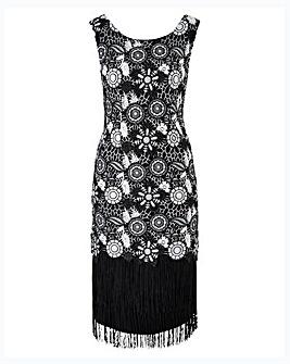Joanna Hope Petite Crcochet Dress