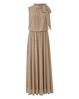 Joanna Hope Plisse Maxi Dress