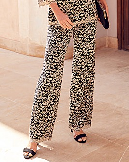 Joanna Hope Lace Trousers
