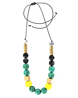 Lizzie Lee Mixed Beaded Necklace