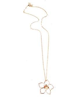 Lizzie Lee Wire Flower Necklace