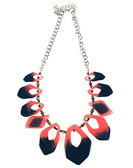 Lizzie Lee Colourful Acrylic Necklace