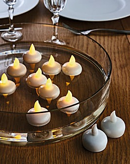 Floating Tealight Candles Set of 6