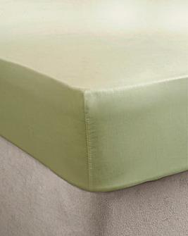 Egyptian Cotton Extra Deep Ftd Sheet