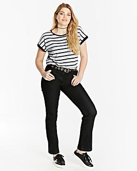 Straight Leg Jeans Short