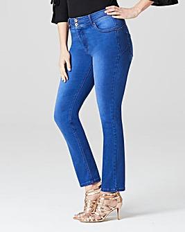 Blue Shape & Sculpt Straight Jeans Reg