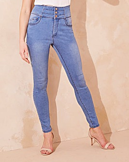 Shape & Sculpt High Waist Skinny Jeans