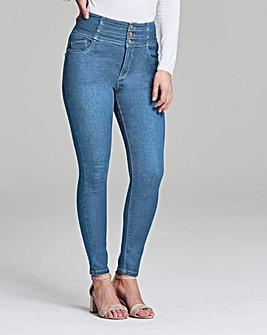 Shape & Sculpt High Waist Skinny Jeans