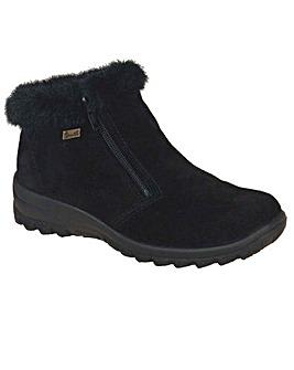 Rieker Ella Womens Warmlined Ankle Boots