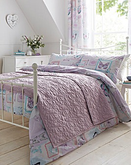 Butterfly Quilted Throwover