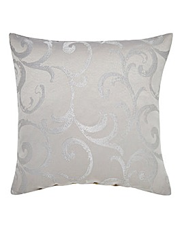 Knightsbridge Jacquard Filled Cushion